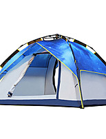 2 persons Tent Triple Automatic Tent One Room Camping Tent 2000-3000 mm Moistureproof/Moisture Permeability Waterproof-Camping Traveling