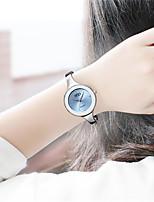 Women's Fashion Watch Quartz Alloy Band White