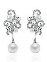 Women's Earrings Set Jewelry Unique Design Euramerican Fashion Pearl Zircon Alloy Jewelry Jewelry ForWedding Birthday Party/Evening