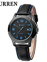 Women's Men's CURREN Fashion Military Fashion Leisure Belt Quartz Watch
