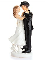 Cake Topper Non-personalized Classic Couple Resin Wedding Anniversary Bridal Shower Gift Box