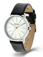 Women's Fashion Watch Quartz Water Resistant / Water Proof Leather Band Black White Brown Gold