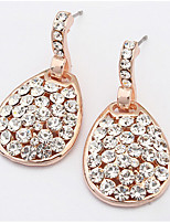 Bohemian  Luxury  Fashion  Classic  Rhinestone  Droplets  Earrings  Women's  Party  Movie  Jewelry