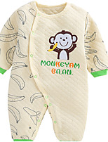Baby Solid Color Animal One-Pieces,Cotton Spring
