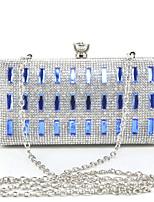 L.WEST Women's fashion with acrylic diamond dinner bag