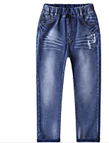 Boys' Going out Solid Jeans Summer Fall