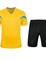 Футбол Спортивный костюм Дышащий Удобный Лето Классика Полиэстер Футбол