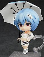 Anime Action Figures Inspired by Neon Genesis Evangelion Ayanami Rei PVC 10 CM Model Toys Doll Toy 1pc