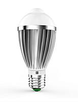 7W E26/E27 Smart LED Glühlampen G60 14 SMD 5630 650 lm Warmes Weiß Kühles Weiß Sensor Dekorativ V 1 Stück
