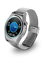 Mulheres Homens Relógio Esportivo Relógio Inteligente Digital Calendário Impermeável Lega Banda Preta Prata