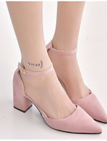 Women's Sandals Comfort Suede Spring Casual Blushing Pink Gray Black Flat
