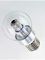 3W Lâmpada Redonda LED 25 SMD 2835 450 lm Branco Quente Branco AC 220-240 V