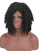 New Style Enchanting Medium Long African roll Hair Synthetic Wig