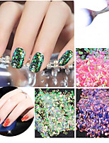 1PC 5g Fish Scales Glitter Shell Sequins Bags 6 Color
