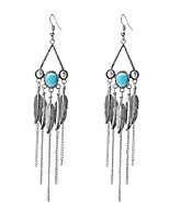 Women's Drop Earrings Tassel Alloy Jewelry For Party Daily Casual Stage
