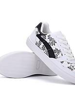 Men's Sneakers Comfort PU Spring Casual White Black Flat