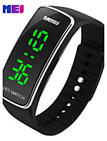 SKMEI Sports Watches Women Fashion Casual LED Digital Wristwatches Silicon Strap Complete Calendar Relogio