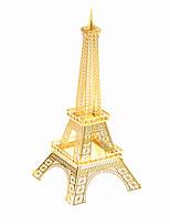 Puzzles Puzzles 3D Blocs de Construction Jouets DIY  Bâtiment Célèbre Acier inoxydable Maquette & Jeu de Construction