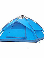 3-4 persons Tent Double Automatic Tent One Room Camping Tent 2000-3000 mm Moistureproof/Moisture Permeability Waterproof-Camping Outdoor