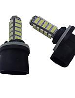 3W DC12V White 880 881 68LED 3020SMD  Light LED for Car Fog light  Headlamp 1PCS