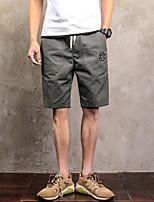 Femme Rétro Solide Shorts & Slips Garçon Boxers