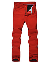 Men's Casual Thermal Corduroy Pants Trousers /DXKZ-3031