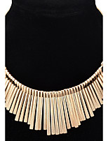 Choker Necklaces Pendant Necklace Women's Euramerican Punk Personalized Alloy Tassel Daily Halloween Statement Jewelry