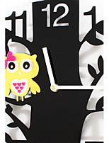 Moderne/Contemporain Horloge murale,Nouveauté Acrylique Intérieur Horloge