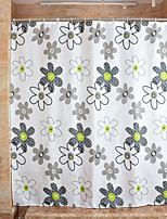 Modern PEVA with High Quality Mildew Bathroom Shower Curtains