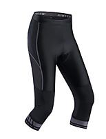 מכנסי רכיבה לגברים אופניים תחתיות אלסטיין Chinlon קלאסי אחיד רכיבה על אופניים/אופנייים אביב קיץ
