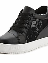 Women's Sneakers Spring Comfort Canvas Casual Black White