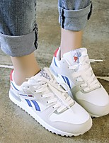 Women's Athletic Shoes Comfort PU Spring Casual Green Purple White Flat