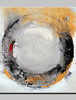 Hand Painted Circle Abstract Oil Painting On Canvas Wall Art Pictures For Home Decoration With Stretched Frame Ready To Hang