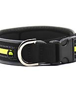 Colliers Réfléchissant Portable Bruit faible Diatonique double Respirable Pliable Sécurité Ajustable Couleur Pleine Géométrie Nylon