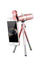 Mobile telescope 18x with 37MM mobile phone clip rose gold