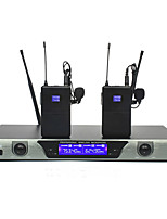 Professional Lapel Lavalier Clip mic headset mic Wireless microphones system