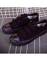 Da uomo Sneakers Comoda Di corda Primavera Casual Bianco Nero Piatto