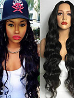 Natural Color Body Wave Wigs Sexy Fashion Natural Wig for Women Hot Design High Quality Heat Resistant Synthetic WIgs