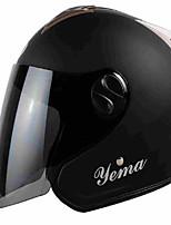 Special Fashion Mustang Motorcycle Helmet Semi - Helmet Electric Scooter Helmet Four Seasons Helmet Male And Female Warm Spring Winter Helmet