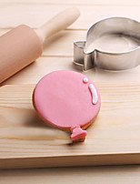 Festival Balloon Cookies Cutter Stainless Steel Biscuit Cake Mold Metal Kitchen Fondant Baking Tools