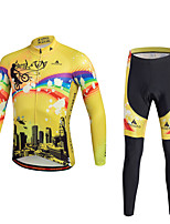 Miloto Maillot de Ciclismo con Mallas BicicletaPantalones/Sobrepantalón Chándal Camiseta/Maillot Medias/Mallas Largas Tops Sets de