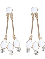 Women's Drop Earrings Dangling Style Bohemian Arylic Alloy Jewelry Party Daily Casual Stage 1 pair