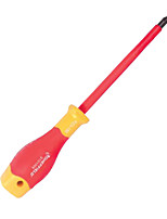 Sheffield  S151014 Insulated Flat Head Hexagonal Screwdriver Two-color Handle / 1 Handle