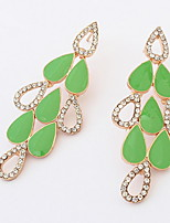 Euramerican Elegant  Luxury Droplets Delicate Earrings Women's Party Drop Earrings  Gift Jewelry