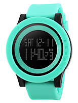 Smart Watch Etanche Sportif Multifonction Chronomètre Fonction réveille Chronographe Calendrier Double Fuseaux Horaires OtherPas de slot