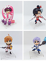 Anime Action Figures Inspired by Cosplay Cosplay PVC 10 CM Model Toys Doll Toy 1set