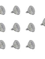 5W Spot LED MR16 1 COB 350-400 lm Blanc Chaud Blanc V 10 pièces
