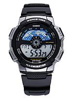 Casio Masculino Relógio Esportivo Relógio de Moda Japanês Quartzo Calendário Impermeável Resistente ao Choque Mostrador Grande Borracha