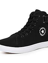 Da uomo Sneakers Comoda Di corda Primavera Casual Bianco Nero Blu Piatto