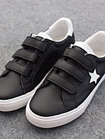Men's Sneakers Comfort Fabric Fall Casual Comfort Black Flat